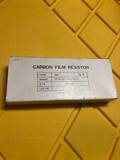 Carbon Film Resistor Kit RK1 1/4W 78 Values Kit Lot