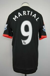 Manchester United 3rd Player/Match Issue Shirt Size 6 MARTIAL #9 2015/2016