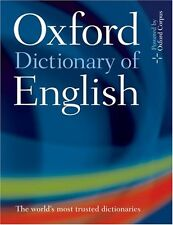 Oxford Dictionary of English,Catherine Soanes, Angus Stevenson- 9780198610571