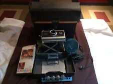 Vintage Polaroid Automatic 330 Land Camera Instant Print Film with Flash +case