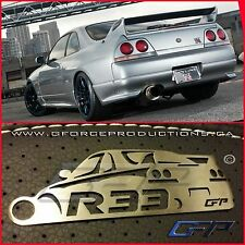 Nissan R33 JDM Stainless Steel custom Key chain Nismo RB26