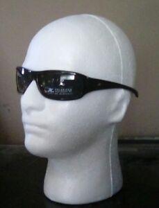 BRAND New! Hobie Onofre shiny black,black polarized rectangle lenses.