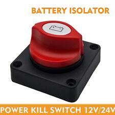 NEU 12V/24V Batteriehauptschalter Batterie Umschalter Trennschalter