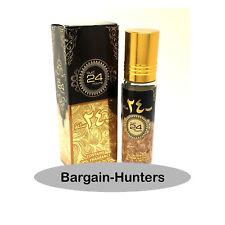 Oud 24 Hours Pure Perfume oil 10ml by Ard al Zaafaran Woody Musky Vanilla
