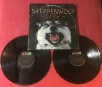 Steppenwolf ‎– Live      1970:ABC Dunhill  DSD50075 Pitman Pressing *VG+ copy