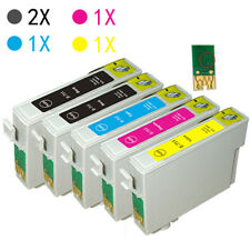 5 XL Ink Cartridges For Epson Stylus SX215 SX218 SX400 SX200 SX405 SX415 SX510W