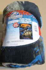 "Jurassic World  Plush Throw Blanket  - 46"" X 60"" NEW!"
