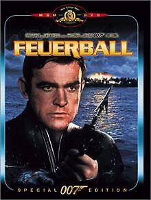 James Bond 007 - Feuerball von Terence Young | DVD | Zustand gut