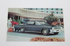1963 OLDSMOBILE  SUPER 88 HOLIDAY SEDAN   DEALER ADVERTISING  POSTCARD