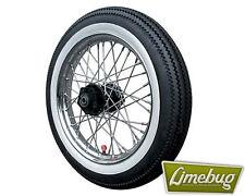 """Moto mur blanc housses pneus set 16"""" large et revêtement intérieur roue moto"""