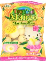 HELLO KITTY Tropical Mango Marshmallow Candy W/Jelly 3.1 oz pack Free Shipping!