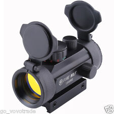 FIRE WOLF Holographic 1X40mm Airsoft Red Green Dot Sight Scope 11&20 Rail Mount