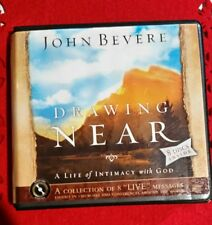 """DRAWING NEAR John Bevere 8 """"live"""" Audio CDs A life of intimacy with God NEW"""