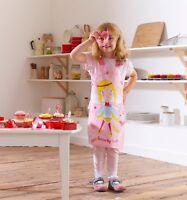 Cooksmart kid Pvc Fairy Mermaid Little Super Star Apron Kids Baking Cooking chef
