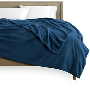 Ultra-Soft Microplush Flannel Fleece Cozy Blanket