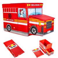 Sitzhocker Aufbewahrungsbox Spielzeugkiste Truhe Kiste Sitzwürfel faltbar