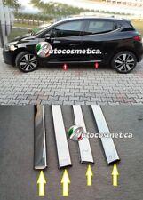 4 modanature sagomate 3d Profili  Acciaio Cromo  Protezioni CLIO 4 IV 12-18