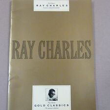 Song book Ray Charles Gold Classics
