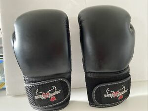 Black Boxing Gloves Century I Love Kickboxing 12iz Adult Barely Used