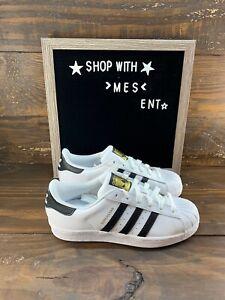 Adidas Original's Womens Superstar Shoe C77153 Cloud White- NEW