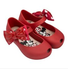 Mini Melissa Polka Dot Bow Sandals Toddler Kid Baby Girls Jelly Shoes USA 6-11
