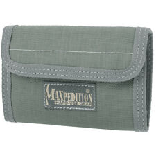 MAXPEDITION SPARTAN WALLET MENS MONEY PURSE TRIFOLD NYLON CASE FOLIAGE GREEN