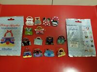 Disney Handbag Mystery Pin Collection 14 Pins maleficent frozen belle snow white