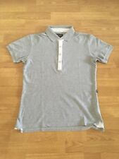 Polo homme maille piquée Serge Blanco gris taille S