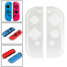 Crystal Clear Plastic Protector Hard Case for Nintendo Switch Joy-Con Controller