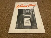DANCING TIMES MAGAZINE 1940 OCT BEATRICE APPLEYARD, LUCILLE BALL, MOLLY BROWN