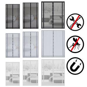 Fliegengitter Tür Magnetisch Magnetvorhang Insektenschutz Balkontür schneidbar