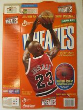 Empty WHEATIES Cereal Box 1997 MICHAEL JORDAN 18 oz Series 91