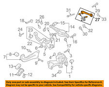 AUDI OEM 06-10 A3 Quattro Rear Suspension-Tie Rod End 1K0501529F