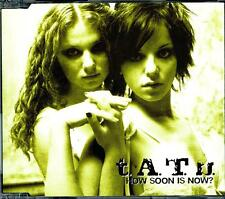 T.A.T.U. (TATU) HOW SOON IS NOW? 4 TRACK CD - EXCELLENT - VGC