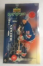 1998-99 Upper Deck MVP Hockey Factory Sealed Box 36 Packs Autographs?