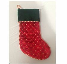 Macy's Believe Christmas Stocking