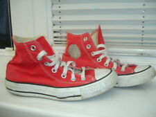 Converse Red Trainers Unisex size UK3.5 EU36 WO'S5.5