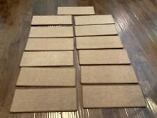 Carpet Stair Treads Non Slip Pads Skid Backing Set 13 New Brown