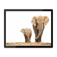 Placemat Mousemat 8x10 - Mother & Baby Elephant Cute  #2321