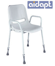 Aidapt Milton Height Adjustable Portable Shower Chair Stackable VB499S