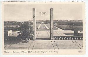 Olympiade Berlin 1936 - Carte Postale Terrain de Sport Reich Olympischer Platz