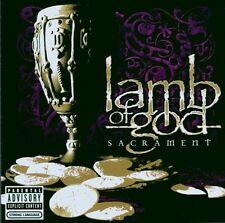 "LAMB OF GOD ""SACRAMENT"" CD NEUWARE!"