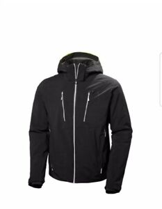 Helly Hansen Alpha 3.0 Jacket-Insulated Mens Ski Jacket with Waterproof Fabric M