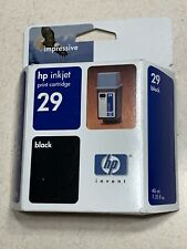 HP 29 Black Ink Catridge Expired 07/04 NEW GENUINE