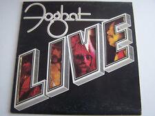 LP 33 TOURS , FOGHAT , LIVE ,1977 , VG - / EX .