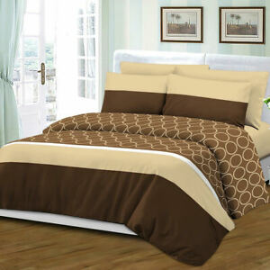 Queen Size 6 Piece Sheet Set Bamboo Style Deep Pocket Fade Resistant Brown