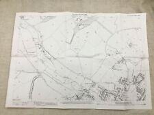 Antique Map St Albans North West Hertfordshire Victorian England 1897 Copy