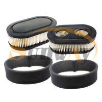 2x Filtre à air Kit Pour Briggs & Stratton 593260 798452 500EX 625ex 550E