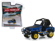 1971 JEEP CJ-5 #44 BAJA CRAGAR BLUE 1/64 DIECAST MODEL CAR BY GREENLIGHT 35130 B