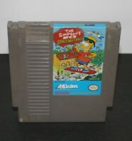 The Simpsons Bart Vs. The Space Mutants (Nintendo NES) Tested & Authentic